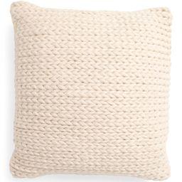20x20 Chunky Woven Wool Blend Pillow | TJ Maxx