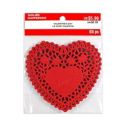 Heart Shaped Doilies by Recollections™ Valentine's Day | Michaels Stores