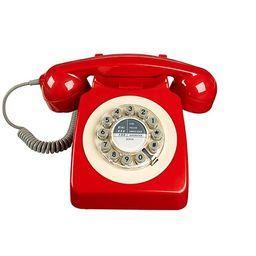 Retro 746 Series Rotary Corded Landline Phone | Walmart (US)