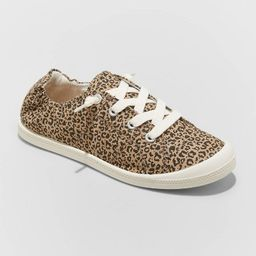 Women's Mad Love Lennie Wide Width Lace Up Canvas Sneakers | Target