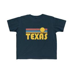 Texas Toddler Shirt - Retro Sunrise Texas Kid's T-Shirt | Etsy (US)