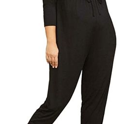 Women's Plus Size Wrap Jumpsuit. 95155-01 | Amazon (US)