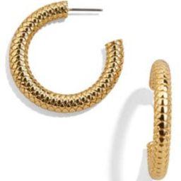 Textured Hoop Earrings | Nordstrom