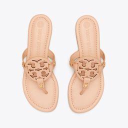 Tory Burch Miller Sandal, Leather: Women's Shoes  | Tory Burch | Tory Burch (US)
