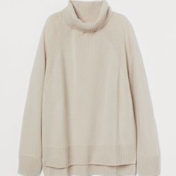 Cashmere polo-neck jumper | H&M (UK, IE, MY, IN, SG, PH, TW, HK, KR)