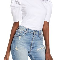 Mini Ruffle Puff Sleeve T-Shirt | Nordstrom