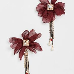 Chiffon Stud Earrings | Shopbop