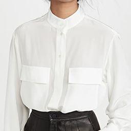 Silk Clean Safari Shirt | Shopbop