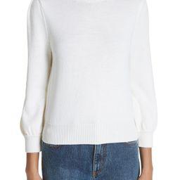 Essentials High Collar Wool Sweater   Nordstrom