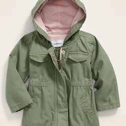 Hooded Canvas Utility Jacket for Baby | Old Navy (US)