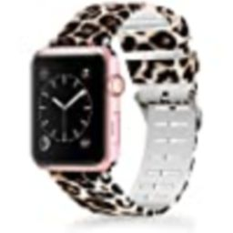 Lwsengme Compatible with Apple Watch Band 38mm 40mm 42mm 44mm, Soft Silicone Replacment Sport Ban...   Amazon (US)