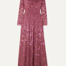 Rosmund sequined tulle gown   Net-a-Porter (US)