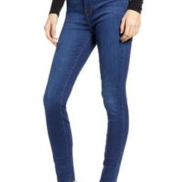 Good Waist High Waist Raw Hem Skinny Jeans | Nordstrom