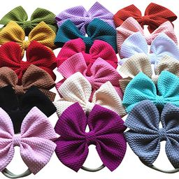 Baby Girl's Headbands and Bows for Newborn Infant Toddler Photographic Accessories | Amazon (US)