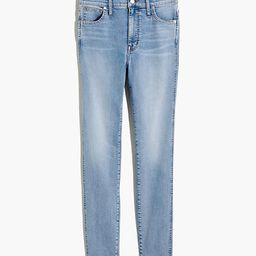 "10"" High-Rise Skinny Jeans in Wheeler Wash   Madewell"