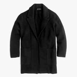 Open-front sweater-blazer | J.Crew US