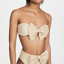 Bow Bikini Top | Shopbop