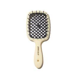 Yves Durif Vented Hairbrush | Violet Grey