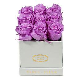 Venus ET Fleur Classic Mini Square Rose Box   Neiman Marcus