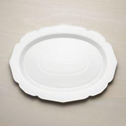 Savannah Oval Platter + Reviews | Crate and Barrel | Crate & Barrel