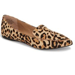 Feather-L Genuine Calf Hair Loafer Flat | Nordstrom