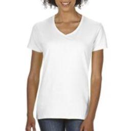 Gildan Heavy Cotton Women's Classic Short Sleeve V-Neck T-Shirt   Walmart (US)