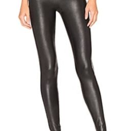 SPANX Faux Leather Leggings in Black from Revolve.com | Revolve Clothing (Global)