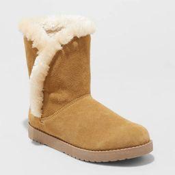 Women's Daniah Suede Mid Boots - Universal Thread™   Target