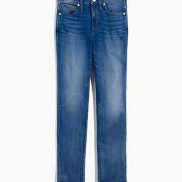 Stovepipe Jeans in Chancery Wash: Fluffy Hem Edition | Madewell
