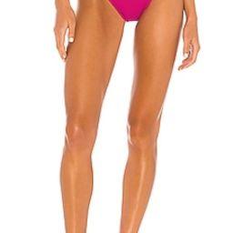 BEACH RIOT Heart Highway Bikini Bottom in Fuchsia Rose from Revolve.com   Revolve Clothing (Global)