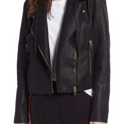 Meant to Be Moto Jacket with Removable Hood   Nordstrom