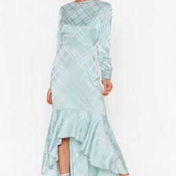 Not Today Satin Midi Dress | NastyGal (US & CA)