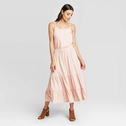 Women's Sleeveless Scoop Neck Midi Dress - Knox Rose™   Target
