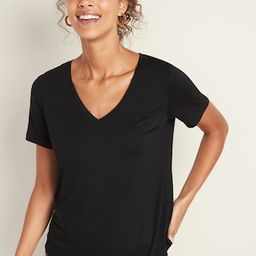 Luxe V-Neck Tee for Women | Old Navy (US)