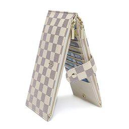 Daisy Rose - Daisy Rose Checkered Multi card Wallet Clutch - RFID Blocking Organizer Card Holder ...   Walmart (US)