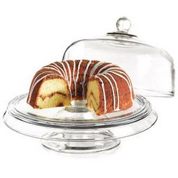 Anchor Hocking Presence 4-in-1 Cake Set, Dome & Platter   Walmart (US)