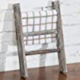 MyGift Rustic Torched Wood Countertop 16-Inch Ladder Kitchen Towel Rack   Amazon (US)