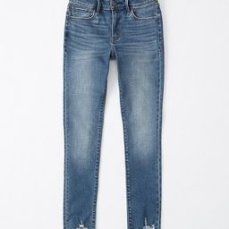 Mid Rise Super Skinny Ankle Jeans | Abercrombie & Fitch US & UK
