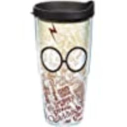 Tervis 1202240 Harry Potter - The Marauder's Map Tumbler with Wrap and Brown Lid 24oz, Clear | Amazon (US)