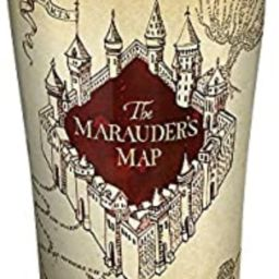 Tervis 1293210 Harry Potter-the Marauder'S Map Insulated Tumbler, 20 oz Stainless Steel, Silver | Amazon (US)