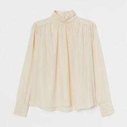 High-collar Blouse | H&M (US)