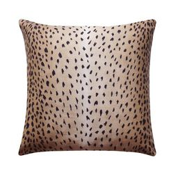 Fawn Pillow Cover, Deer Pillow, Animal Pillow Cover, Antelope Linen Pillow Cover, Black Tan Beige...   Etsy (US)