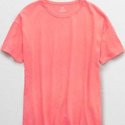 Aerie Boyfriend Distressed Oversized T-Shirt   American Eagle Outfitters (US & CA)