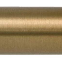 Ivilon Drapery Window Curtain Rod - End Cap Style Design 1 Inch Pole. 48 to 86 Inch Color Warm Go... | Amazon (US)