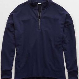 Aerie Sunday Soft Quarter Zip Sweatshirt   American Eagle Outfitters (US & CA)