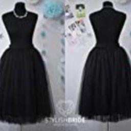 Black Casual Women's Tutu Skirt, Black Tulle Skirt Bridal, Women Tulle Skirt Black color, Party Tull | Amazon (US)