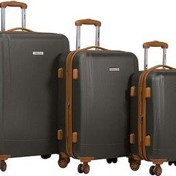 Legion 3-pc Hardside Spinner TSA Combination Lock Luggage Set   Amazon (US)
