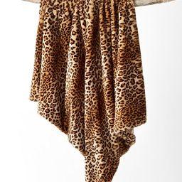 Animal Print Faux Fur Throw, Created for Macy's | Macys (US)