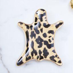 Ikat Leopard Skin Trinket Coffee Table Tray | Wayfair North America