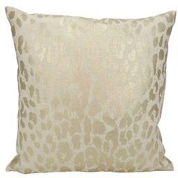 Regina Metallic Leopard Throw Pillow | Wayfair North America